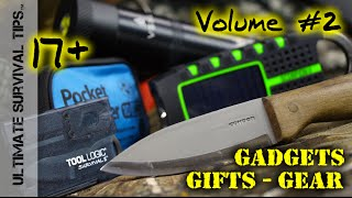 BEST $13 Survival Kit? +17 MORE Survival Gadgets / Gifts / Gear in 7 Minutes - Volume #2
