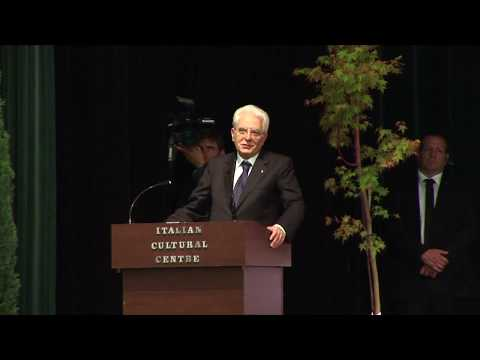 Visit from the President of Italy: Sergio Mattarella