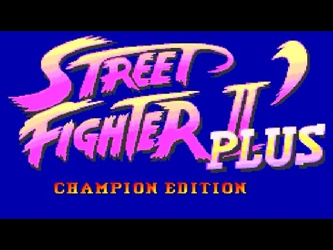 [2/2] Ryu Playthrough - STREET FIGHTER II DASH PLUS(Genesis)