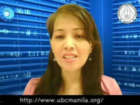Guidelines for prayer network members - ubc manila