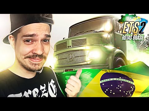 BRASIL TRUCK SIMULATOR - ANDANDO PELAS ESTRADAS REAIS DO BRASIL INACREDITÁVEL REALISMO!