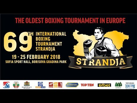 Ring A - 69th International Boxing Tournament Strandja 2018 session 3A