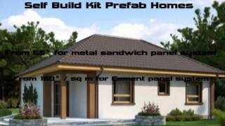 Self Build Prefab Home Kits Price