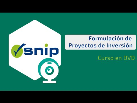 Formulacion de Proyectos de Inversión Publica : SNIP