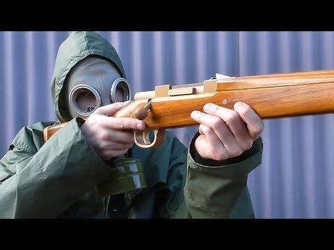 Kar98k rubber band gun
