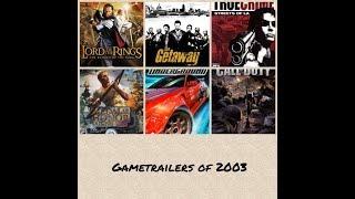 Best Gametrailers of 2003