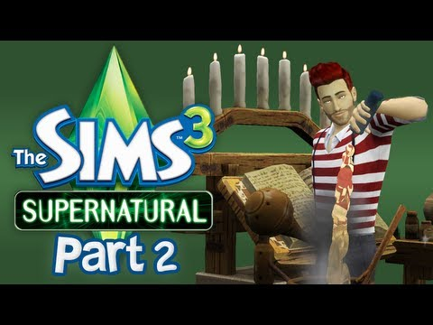 Let's Play The Sims 3 Supernatural - Part 2 (Alchemy)