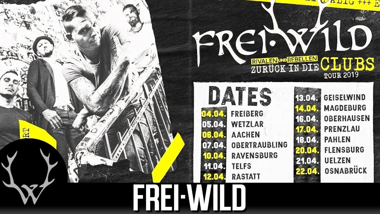 Frei Wild Tour 2020 Deutschland