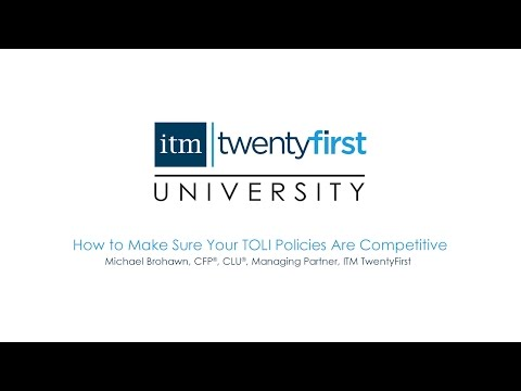 How to Make Sure Your TOLI Policies Are Competitive