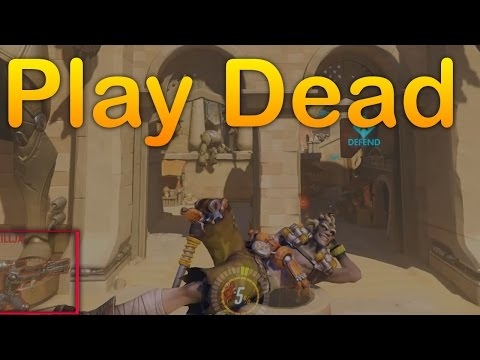 How To Play Dead in Overwatch | Acting Dead in Overwatch -- Emote payload stop