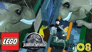 LEGO JURASSIC WORLD Gameplay Walkthrough Part 8 - 'MAMA & DADDY T-REX!!!' (1080p HD PC)