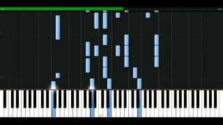 Phil Collins - I Dont Care Anymore [Piano Tutorial] Synthesia | passkeypiano