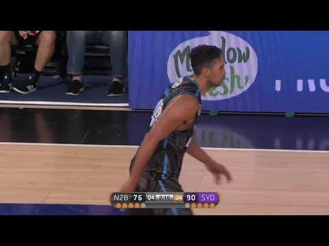 Tai Wesley with 22 Points vs. Sydney Kings