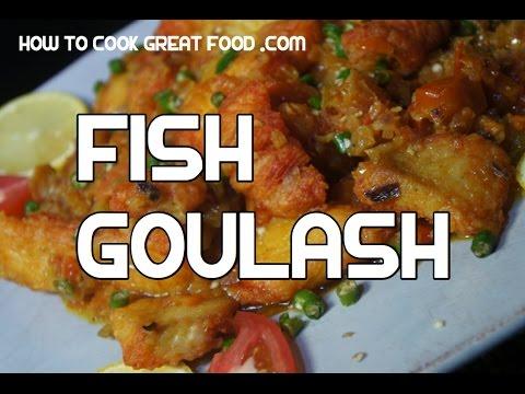Ethiopian Asa Goulash Recipe  - Amharic English - Fish Video Ghoulash