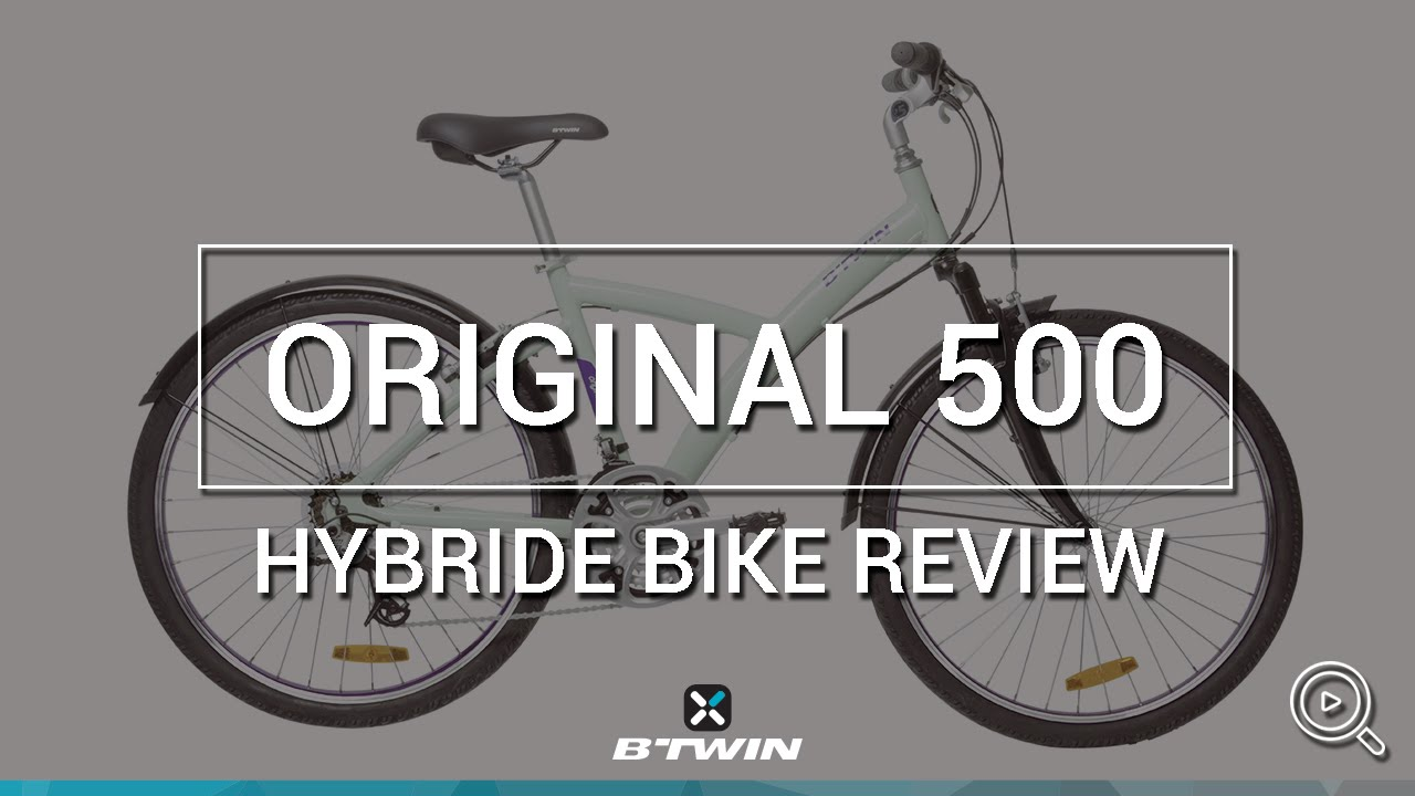 VÉLO TOUT CHEMIN ORIGINAL 500 B'TWIN // HYBRID BIKE ORIGINAL 500 B'TWIN