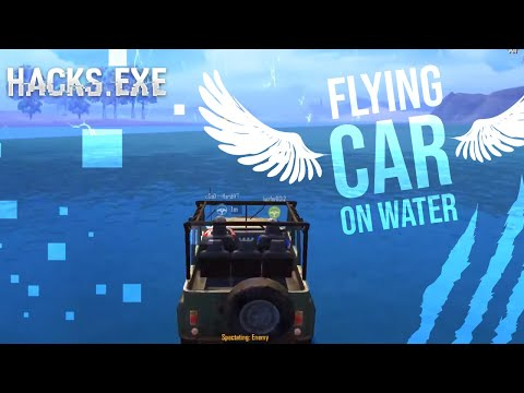 FLYING CARS ON WATER NEXT LEVEL NOOB HACKERS SPEED HACK NO RECOIL EVERY HACK YOU CAN IMAGINE
