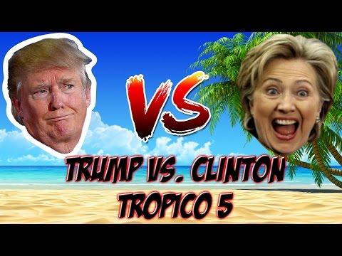 Tropico Lets Play | Trump vs Clinton EP 1 |