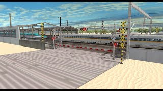 Trainz Railfanning Pt 181:Shinkansen, American East Coast Bullet Train, Cape Hatteras Lighthouse