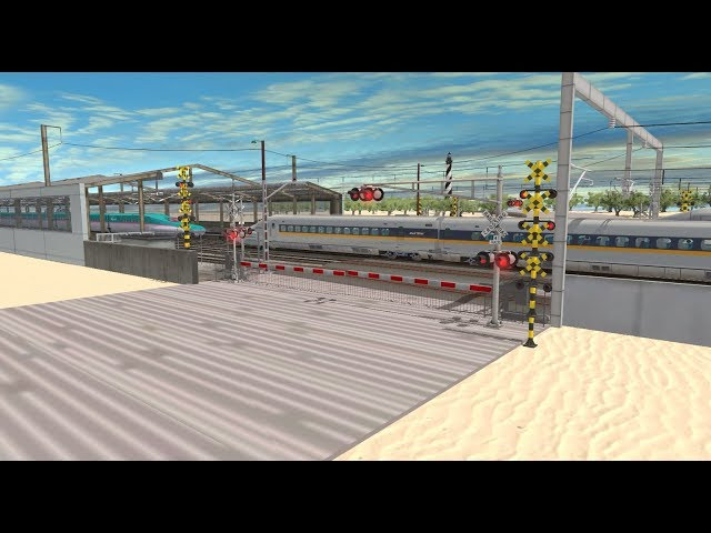Trainz Railfanning Pt 181:Shinkansen, American East Coast Bullet Train, Cape Hatteras Lighthouse
