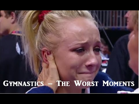 Gymnastics the worst moments