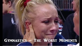 Gymnastics the worst moments