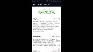 Pembayaran Mingguan Uber Motor
