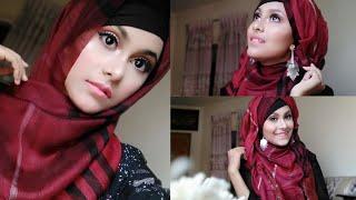 Gorgeous Eid Makeup Tutorial || Hijab Tutorial with earrings for Eid || Noshin Nower ❤