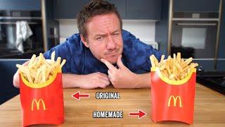 Homemade McDonald's Fries Recipe
