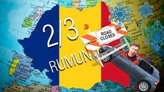 Vienas į Rumuniją | 2 dalis | Uždarytas kelias.