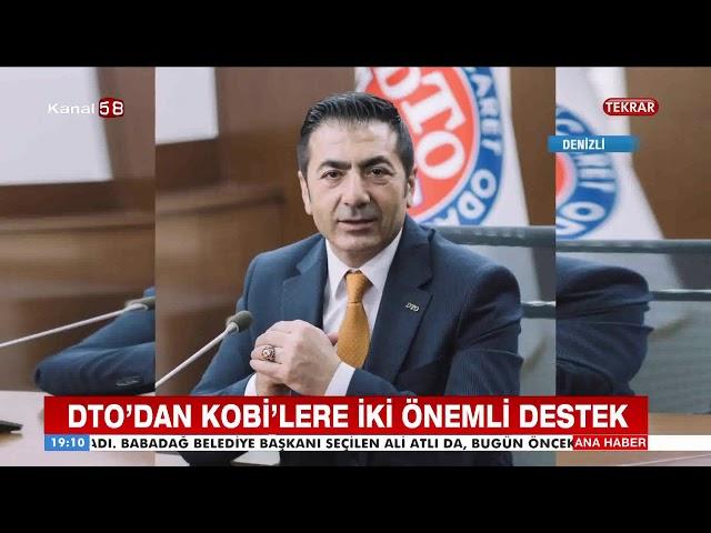 Kanal 58-DTO'dan KOBİ'lere iki önemli destek 09 042019