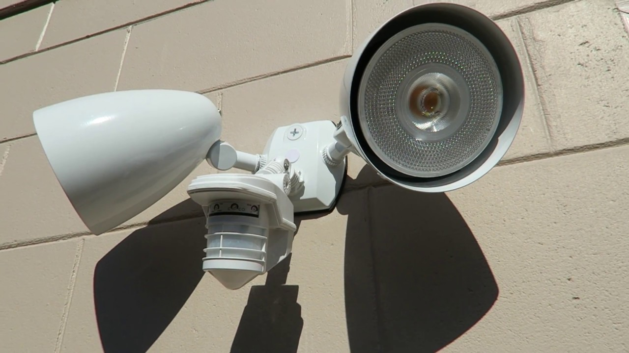 Best Outdoor Security Lights Youtube