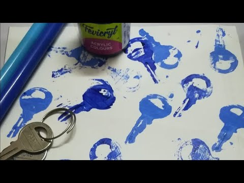 Printing ideas   craft ideas   kids activities   paper craft   diy art#bj#bruhathijashvithaartsworld