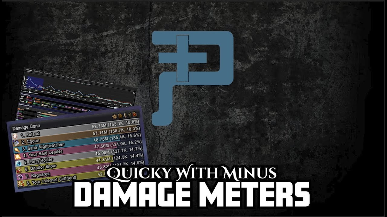 Damage Meters – Pantheon Plus