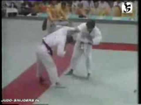Judo 1984 Los Angeles Neil Adams - Frank Wieneke