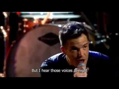 The Killers - Spaceman (Live at Royal Albert Hall) - Video with Lyrics/Subtitles
