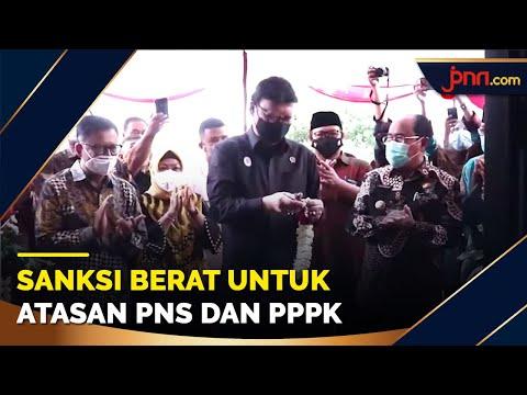 2 Aturan Baru untuk PNS dan PPPK, Sanksi Berat Jika Melanggar