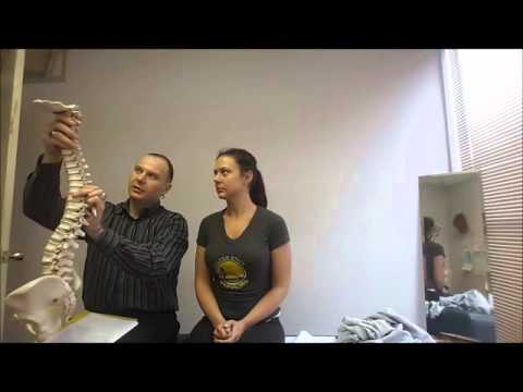 NECK PAIN AND LOWER BACK PAIN AFTER AN OLD INJURY - 1ST CHIROPRACTIC ADJUSTMENT SUCCESS