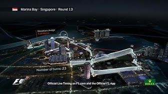 F1 Circuit Guide: Marina Bay, Singapore