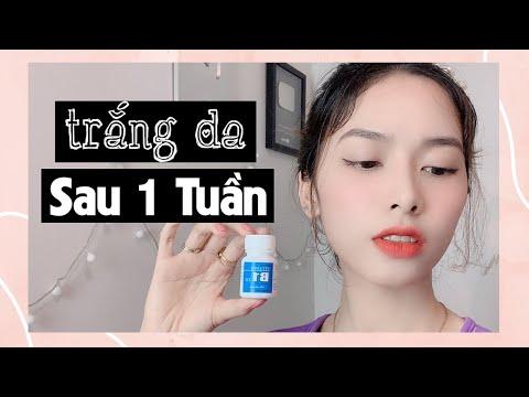 Cách Tắm Trắng Với Vitamin B1, Da Đen Như Than Cũng Trắng Bóc Mịn Màng | Hồng Beauty ♥