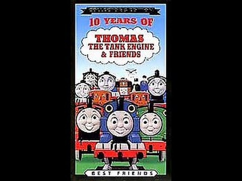 Opening To 10 Years Of Thomas & Friends 1999 VHS - YouTube