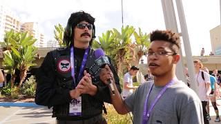 Dr. DisRespect & Andy Milonakis | Twitchcon Day 1 Recap
