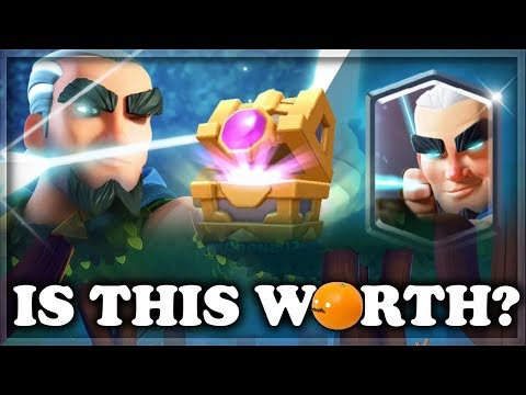 Is Magic Archer Chest Value?  Opening 9 MArcher Chests  Clash Royale 🍊