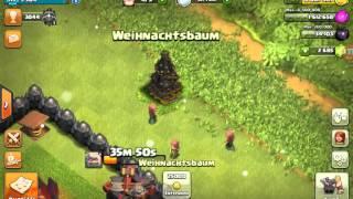 SO BEKOMMT MAN WEIHNACHTSBÄUME! II CLASH OF CLANS II German/Deutsch HD