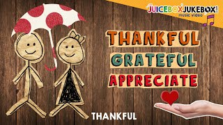 Thankful by The Juicebox Jukebox | Thanksgiving Holiday Kids Songs 2018