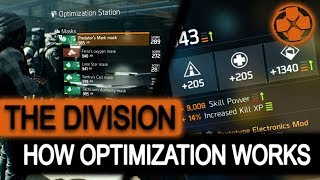 The Division | Optimization Station | How Does it Work | Update 1.8 | PC Gameplay