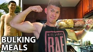 MY BULKING DIET MEALS TO GAIN MUSCLE - Life After College: Ep. 446 thumbnail