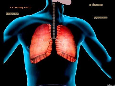 плеврит  ,  о болезни  ,  упражнения при болезни