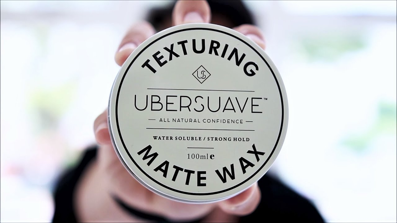 Ubersuave Matte Wax | Review & Styling - YouTube