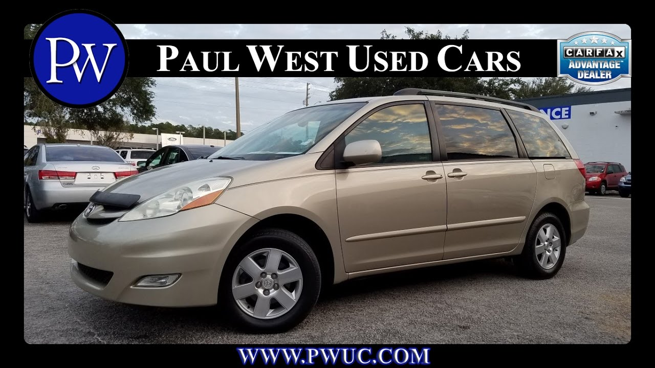 Used toyota sienna for sale in gainesville fl