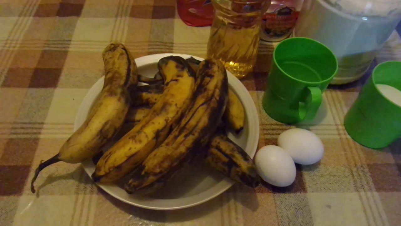 Блюда из бананов переспелых